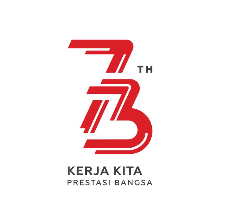 logo dirgahayu 73