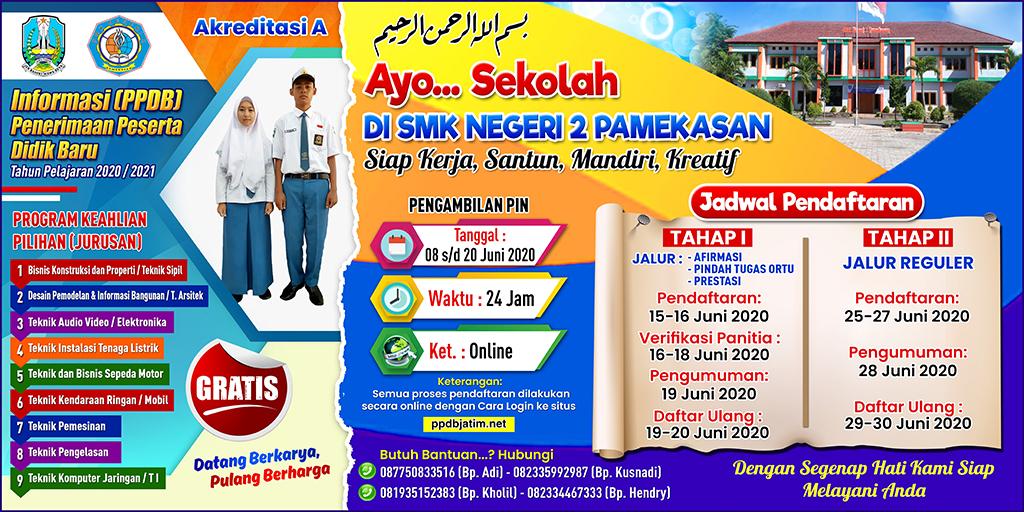 Lanjutkan Sekolahmu di SMK NEGERI 2 PAMEKASAN