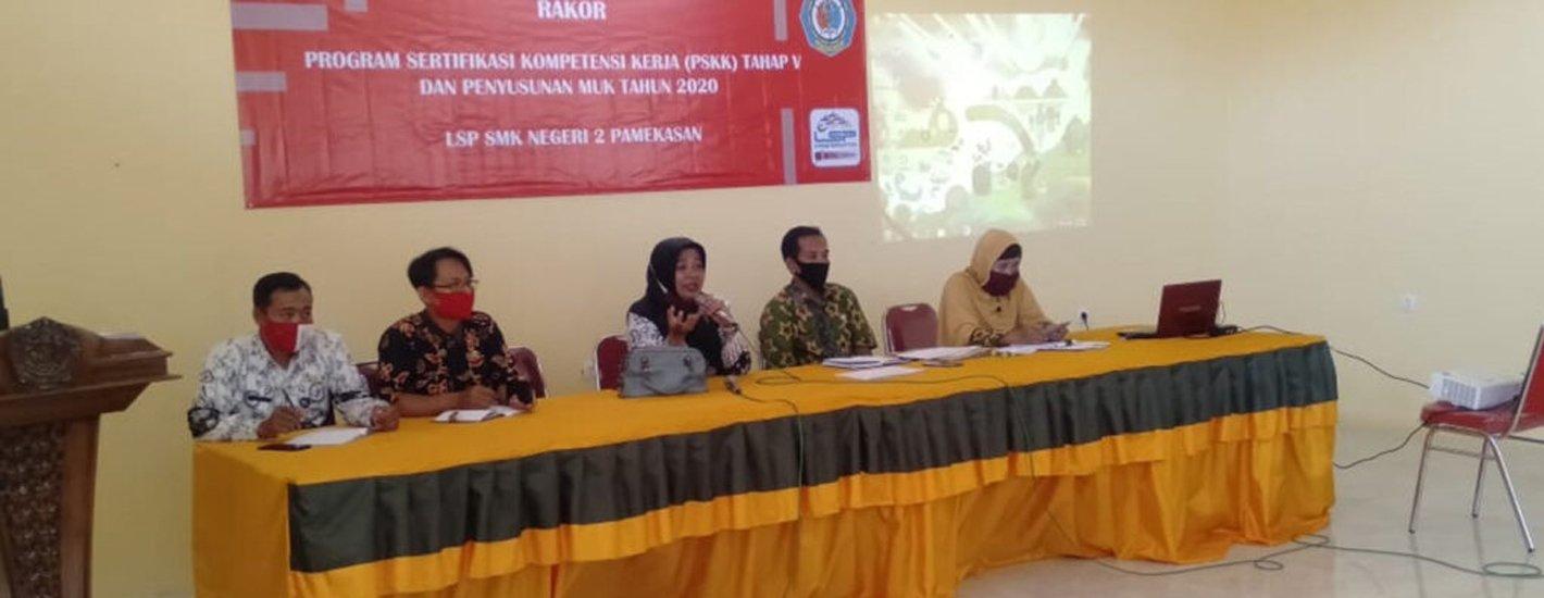 Sosialisasi Program Sertifikasi Kompetensi Kerja (PSKK) Tahap V